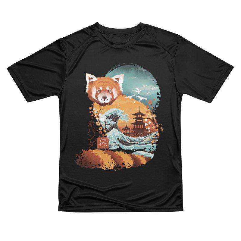 Ukiyo e Red Panda Men's T-Shirt by Threadless Artist Shop