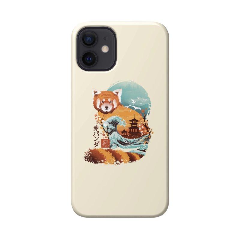 Ukiyo e Red Panda Accessories Phone Case by Threadless Artist Shop