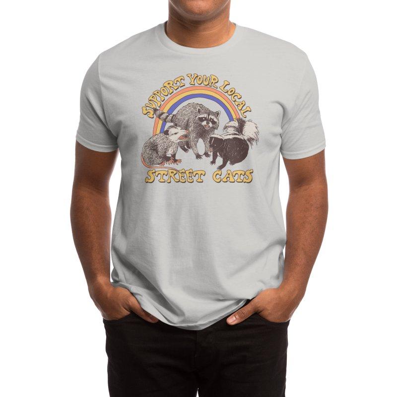 Street Cats Men's T-Shirt by Threadless Artist Shop