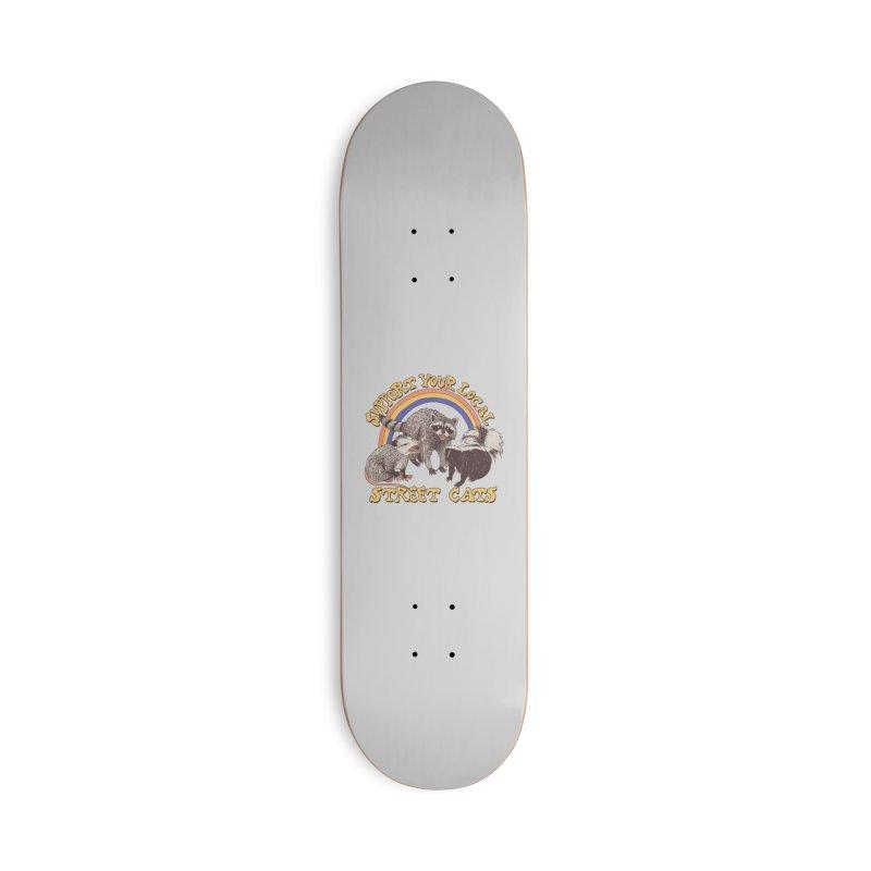Street Cats Accessories Skateboard by Threadless Artist Shop