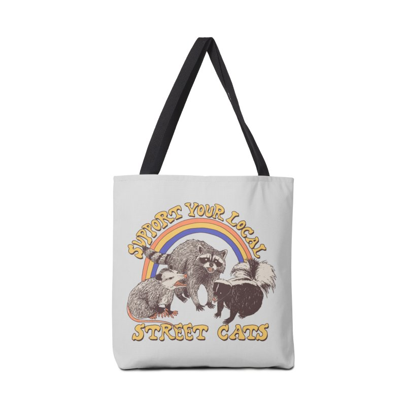 Street Cats Accessories Bag by Threadless Artist Shop