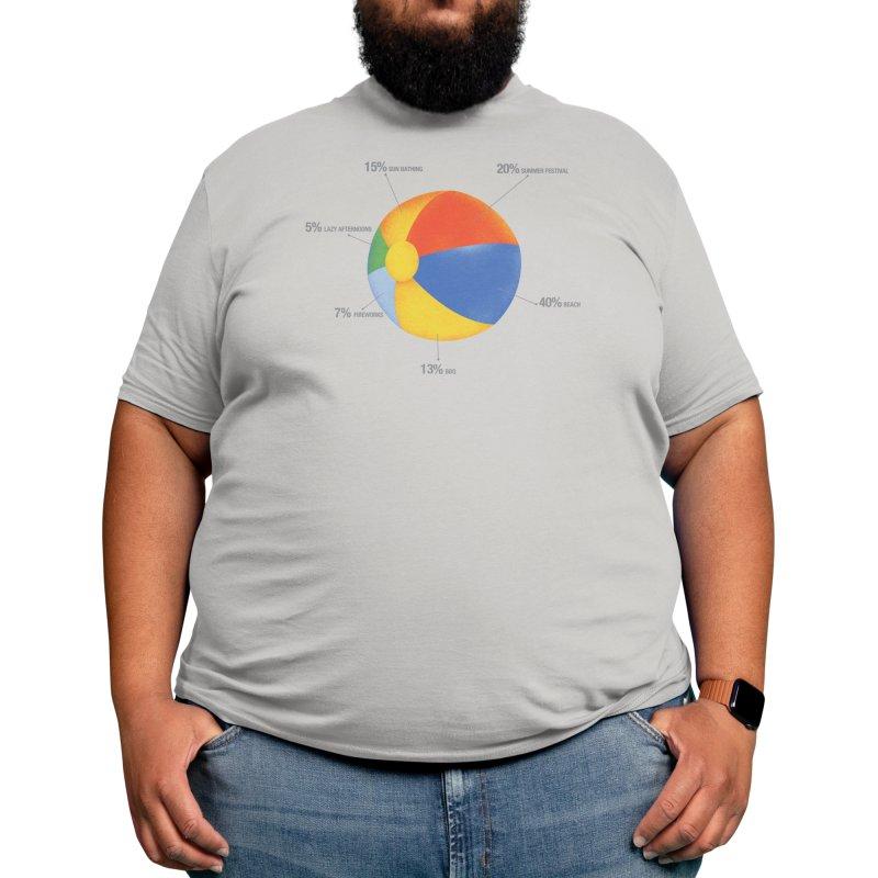 Summer Chart Men's T-Shirt by Threadless Artist Shop