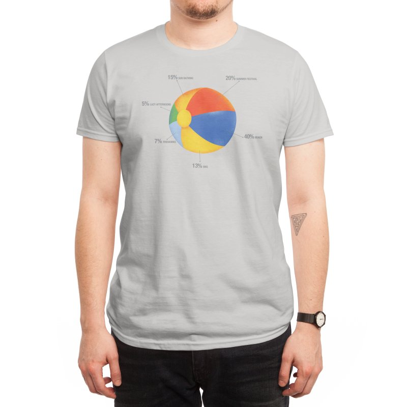 Summer Chart Men's T-Shirt by Threadless Artist Shop