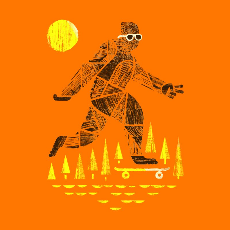 Surefooted Men's T-Shirt by Threadless Artist Shop