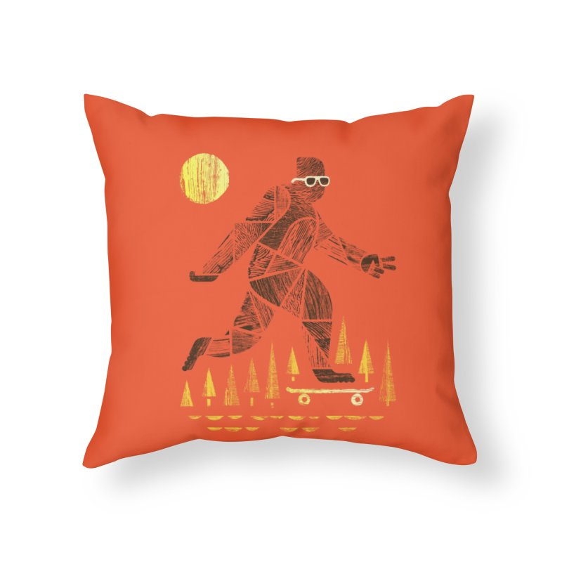 Surefooted Home Throw Pillow by Threadless Artist Shop