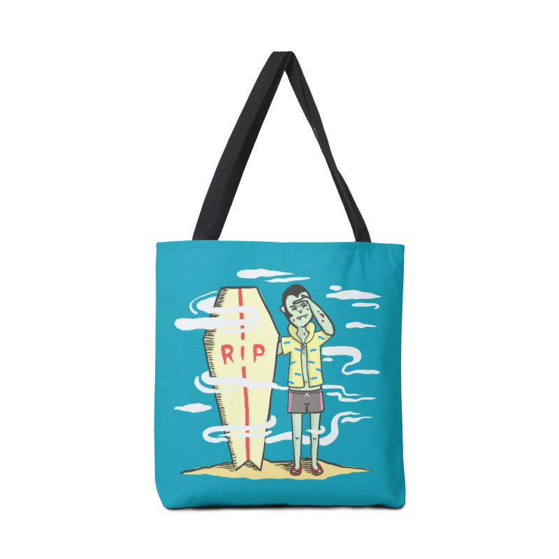Surf Dracula Accessories Bag by Threadless Artist Shop