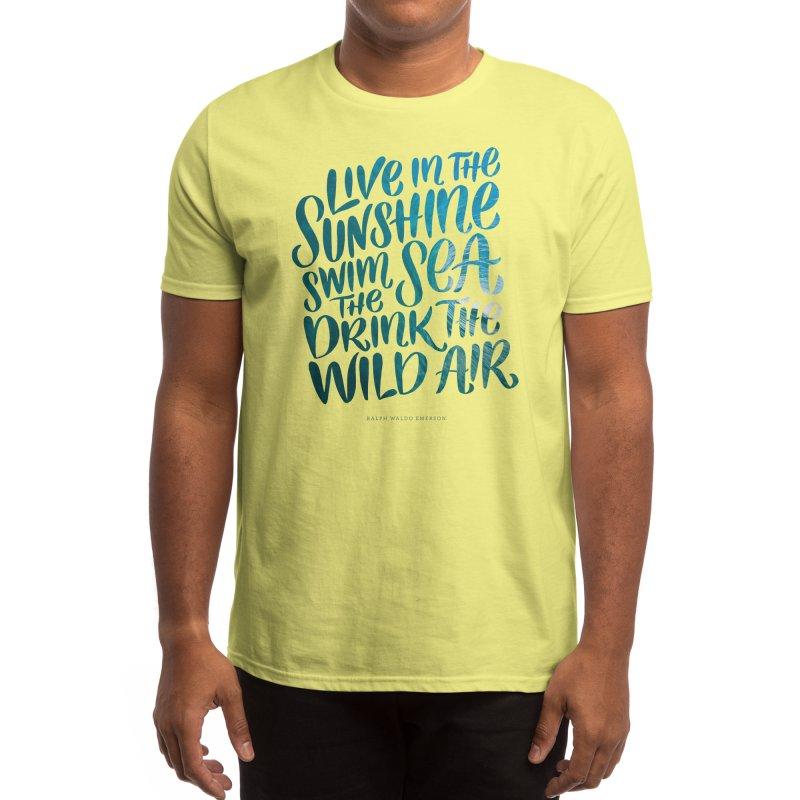 Swim the Sea Men's T-Shirt by Threadless Artist Shop