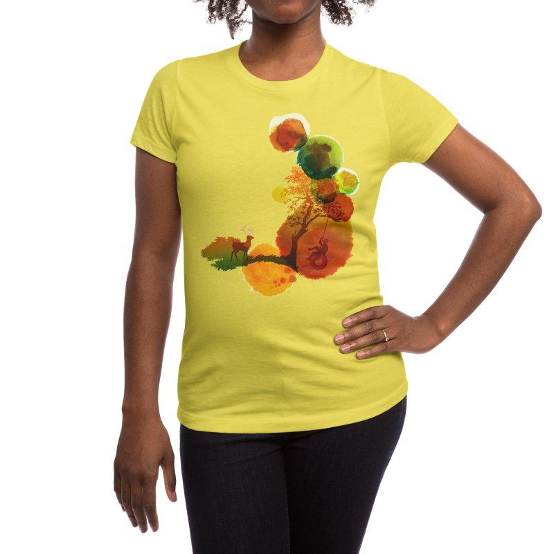 Swing Women's T-Shirt by Threadless Artist Shop