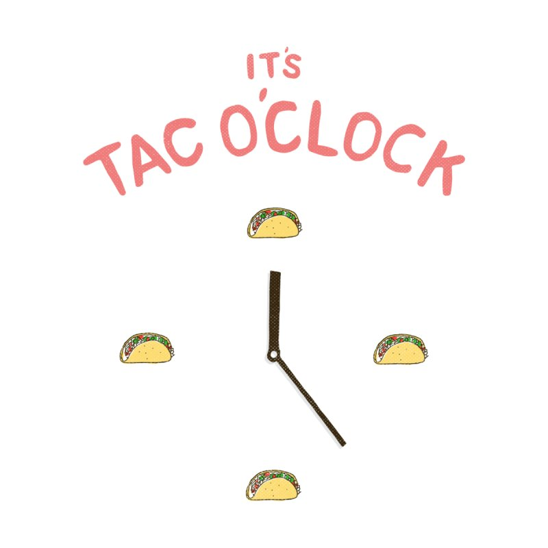 TacO'Clock Men's T-Shirt by Threadless Artist Shop