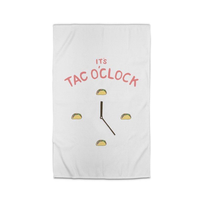 TacO'Clock Home Rug by Threadless Artist Shop