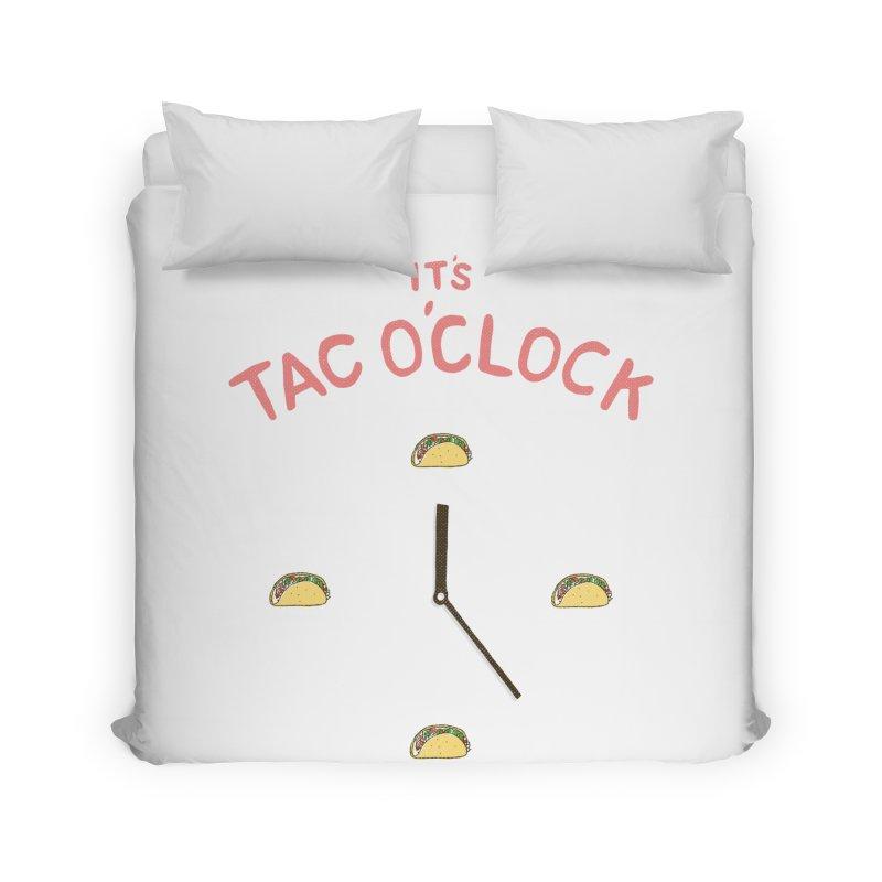 TacO'Clock Home Duvet by Threadless Artist Shop