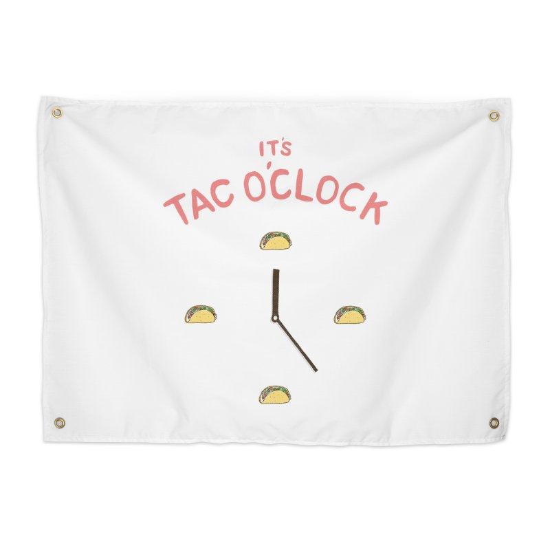 TacO'Clock Home Tapestry by Threadless Artist Shop