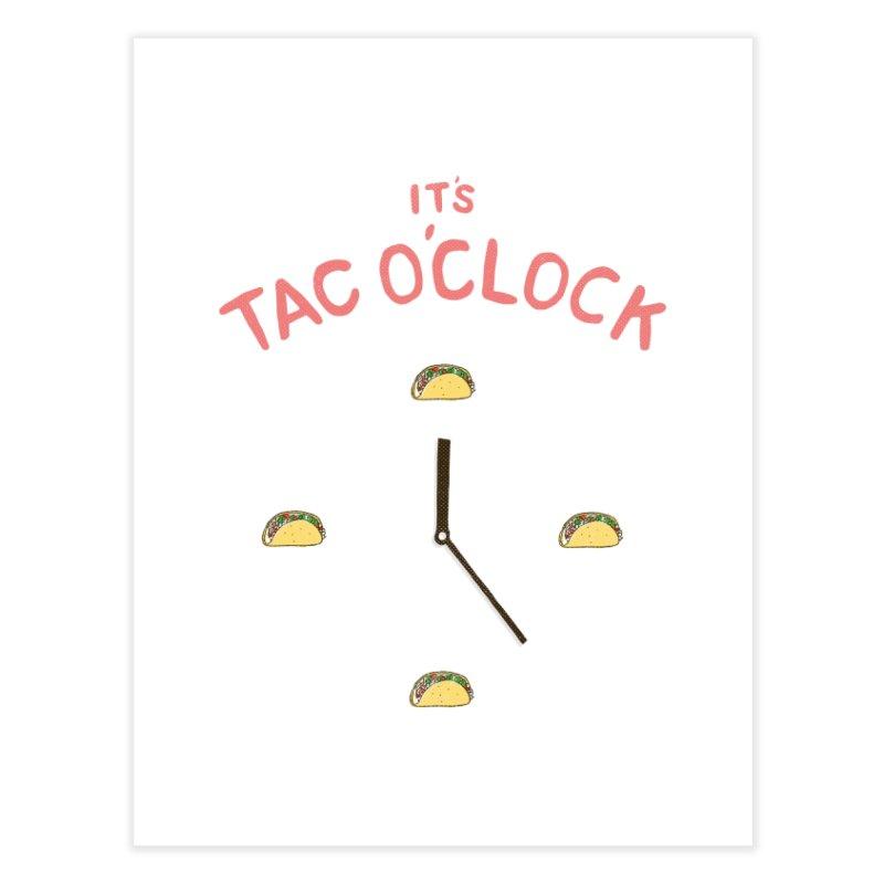 TacO'Clock Home Fine Art Print by Threadless Artist Shop