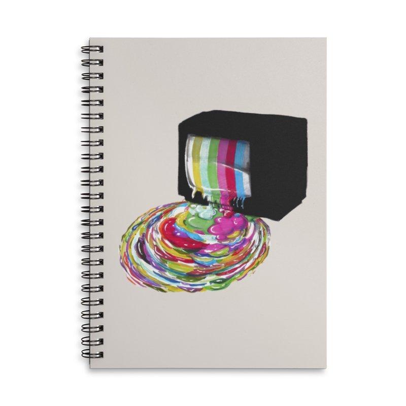 Test Pattern Accessories Notebook by Threadless Artist Shop