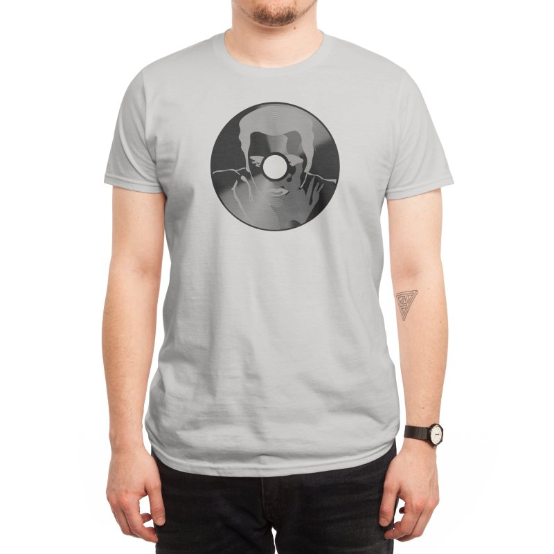 The King of Rock n Record Men's T-Shirt by Threadless Artist Shop
