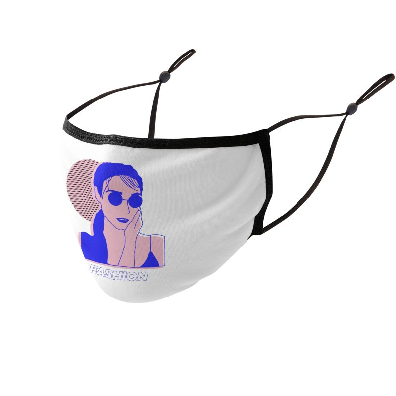 The Lady Fashion Accessories Face Mask by Threadless Artist Shop