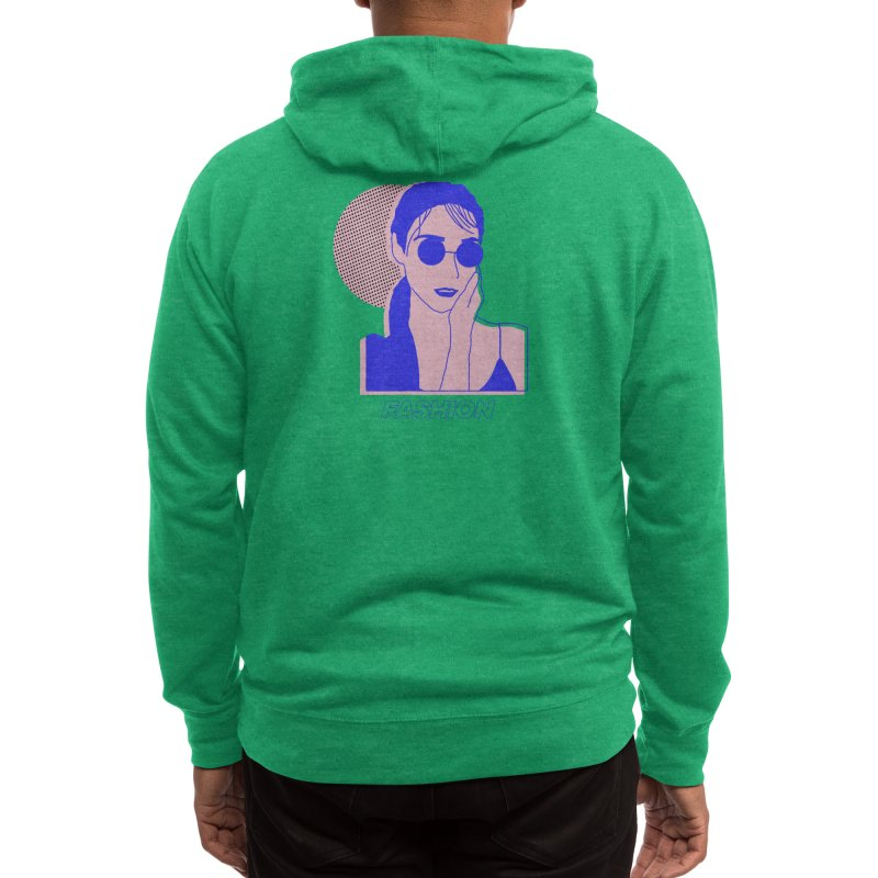 The Lady Fashion Men's Zip-Up Hoody by Threadless Artist Shop
