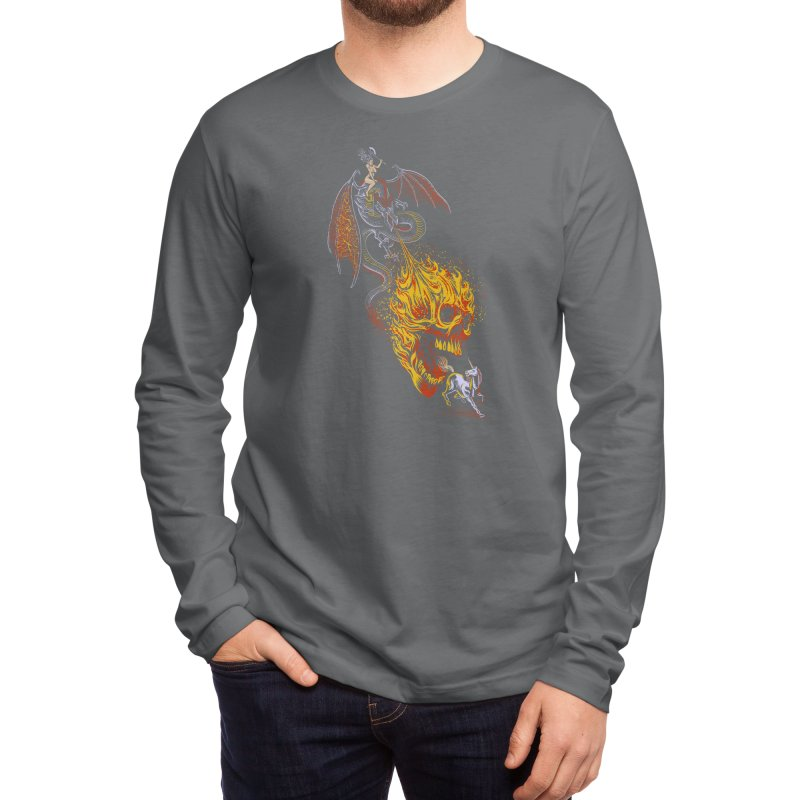 The Last F*ckin' Unicorn Men's Longsleeve T-Shirt by Threadless Artist Shop