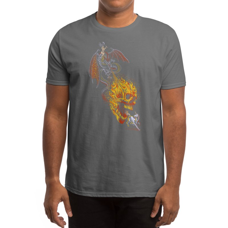 The Last F*ckin' Unicorn Men's T-Shirt by Threadless Artist Shop