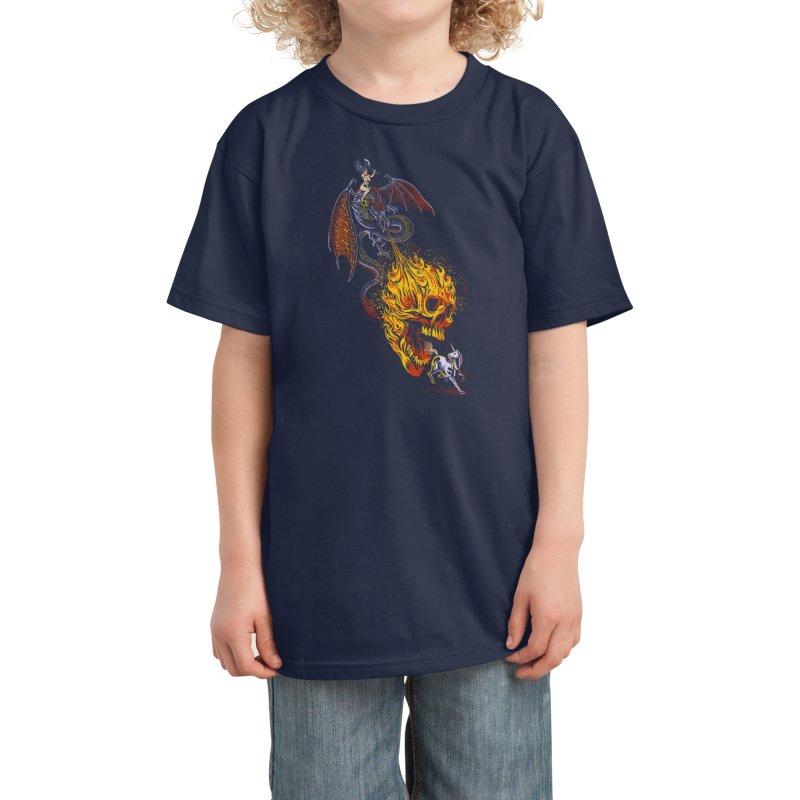 The Last F*ckin' Unicorn Kids T-Shirt by Threadless Artist Shop