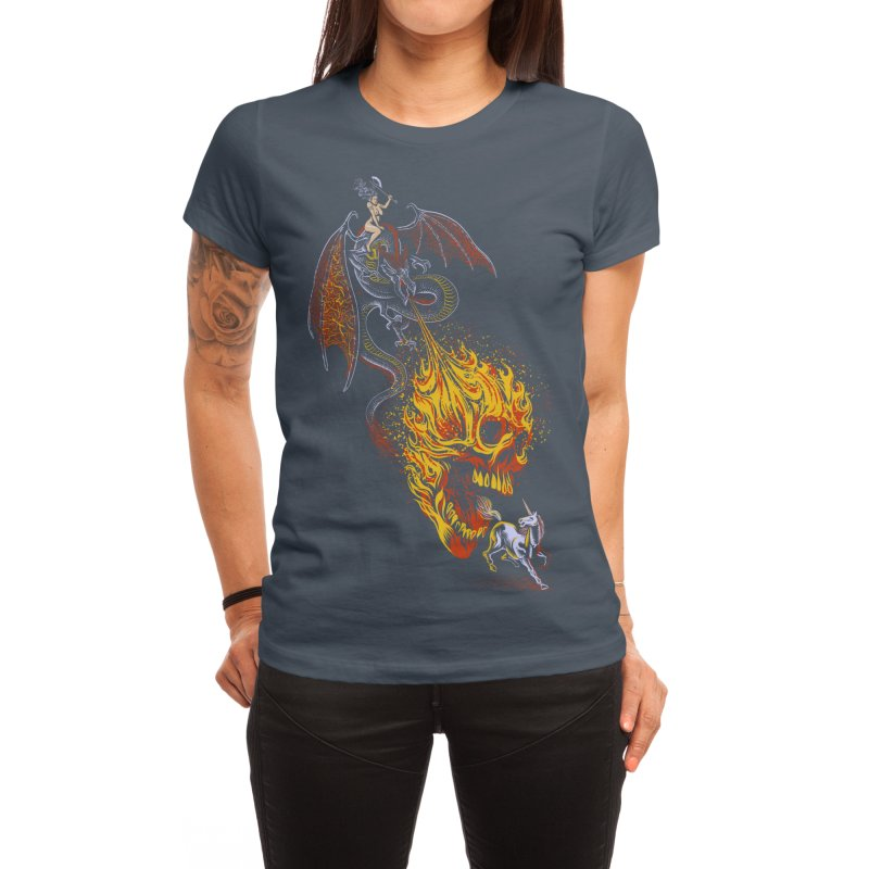 The Last F*ckin' Unicorn Women's T-Shirt by Threadless Artist Shop