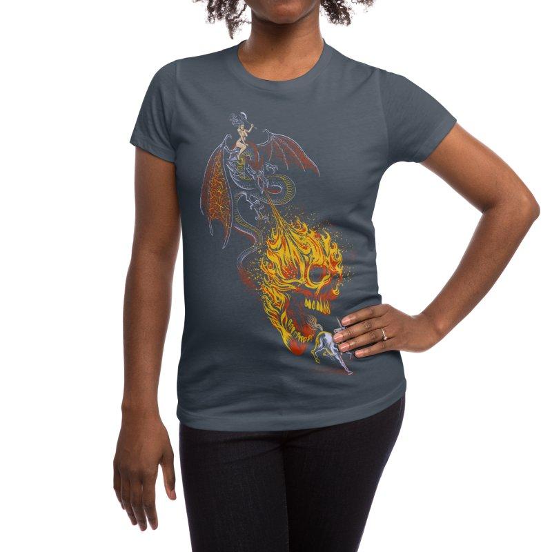 The Last F*ckin' Unicorn Women's T-Shirt by Threadless Artist Shop