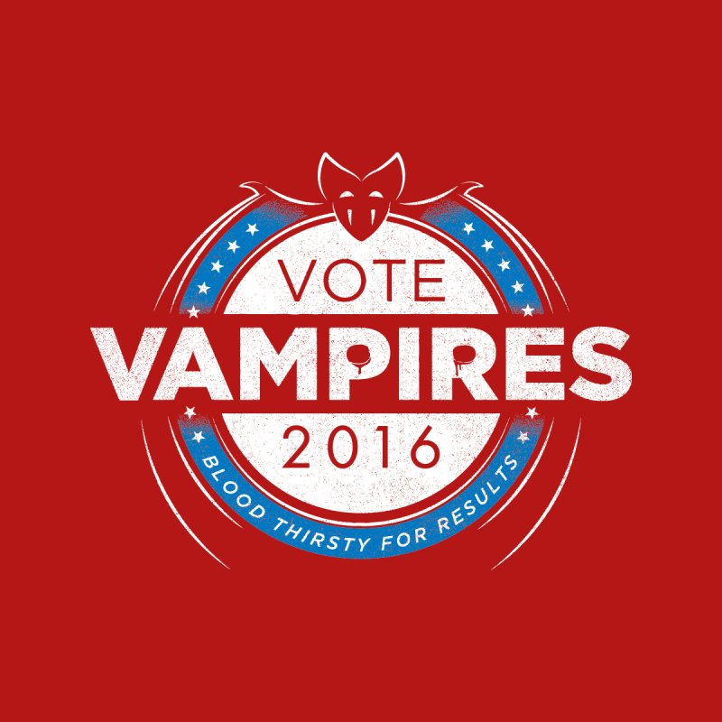 Vote Vampires! Men's T-Shirt by Threadless Artist Shop