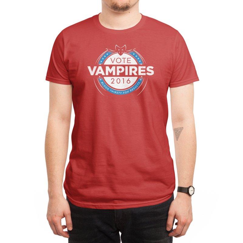 Vote Vampires! Men's T-Shirt by Threadless Artist Shop