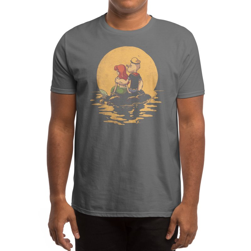 The Mermaid and the Sailor Men's T-Shirt by Threadless Artist Shop