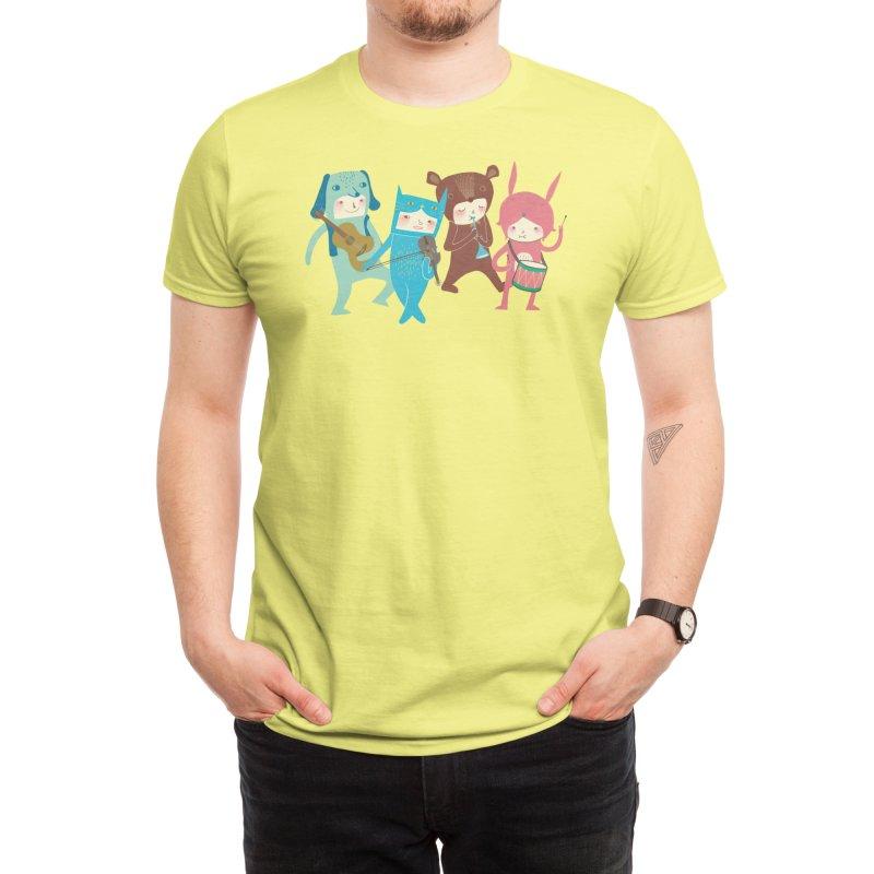 The Musicians Men's T-Shirt by Threadless Artist Shop