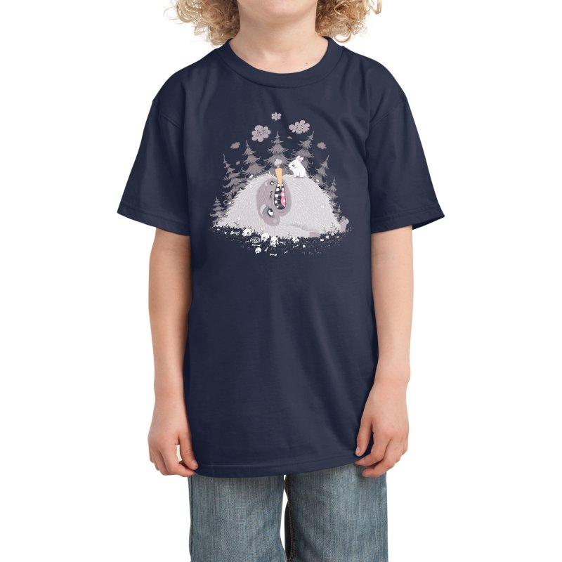 The Monsterhill Kids T-Shirt by Threadless Artist Shop