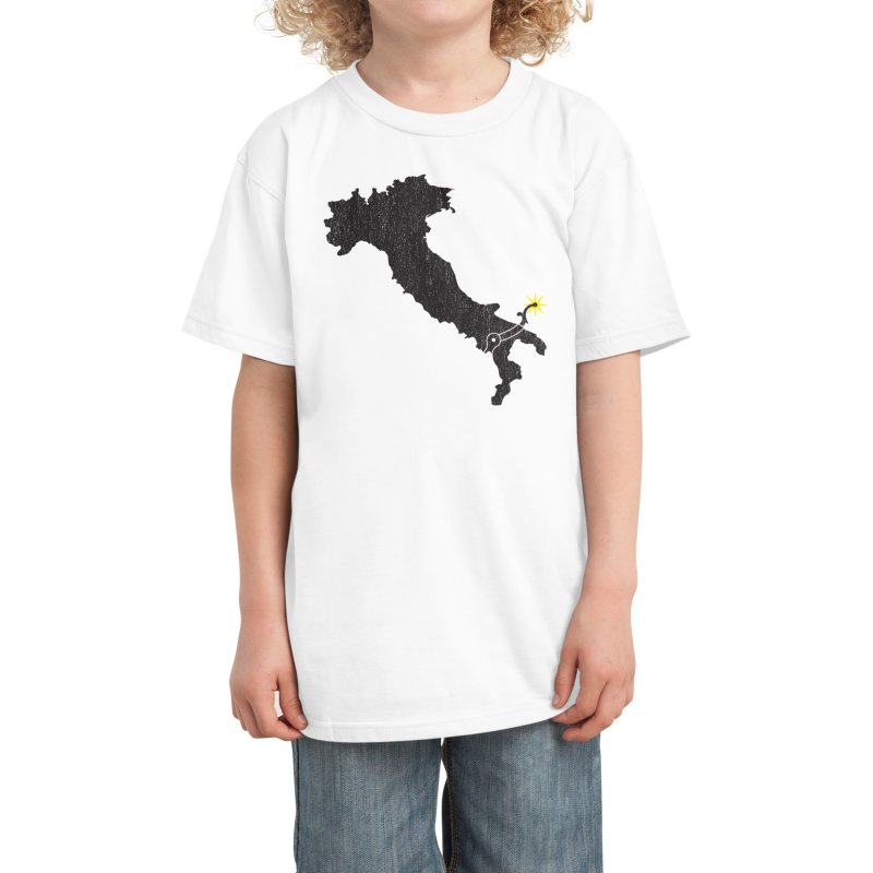 The Spaghetti Western Kids T-Shirt by Threadless Artist Shop