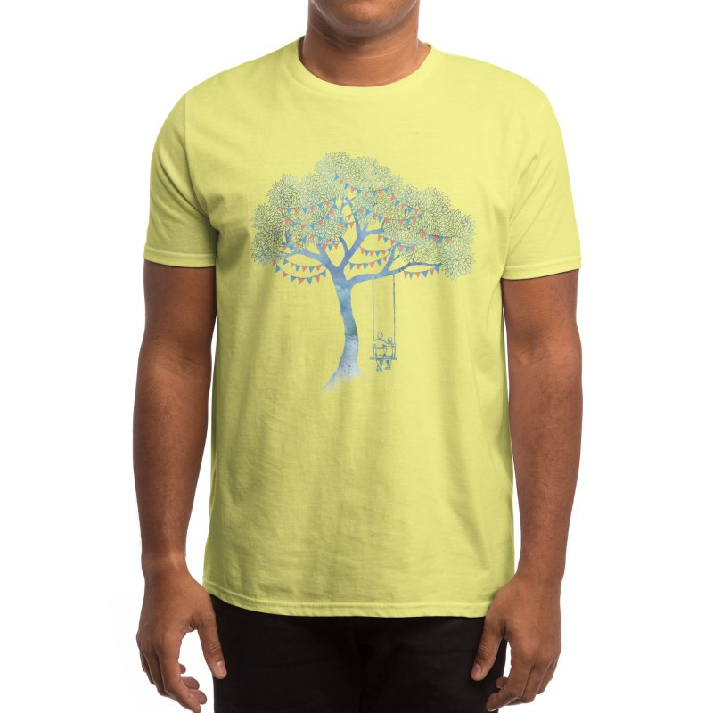 The Start of Something Men's T-Shirt by Threadless Artist Shop
