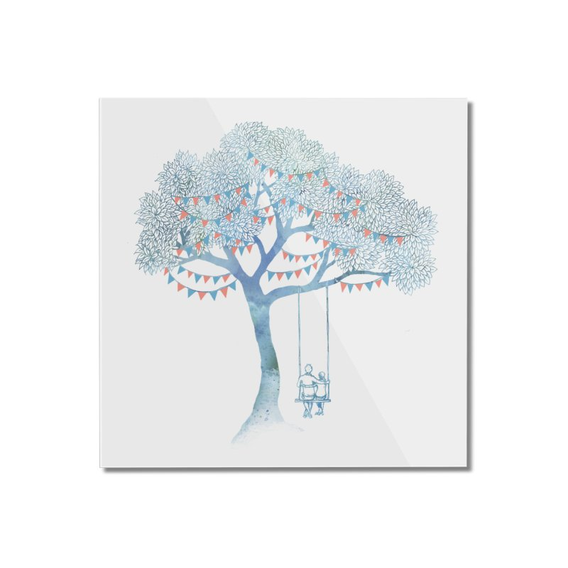 The Start of Something Home Mounted Acrylic Print by Threadless Artist Shop