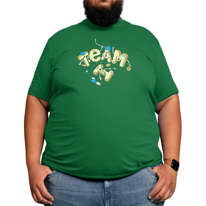 There's No 'I' In 'TEAM' Men's T-Shirt by Threadless Artist Shop