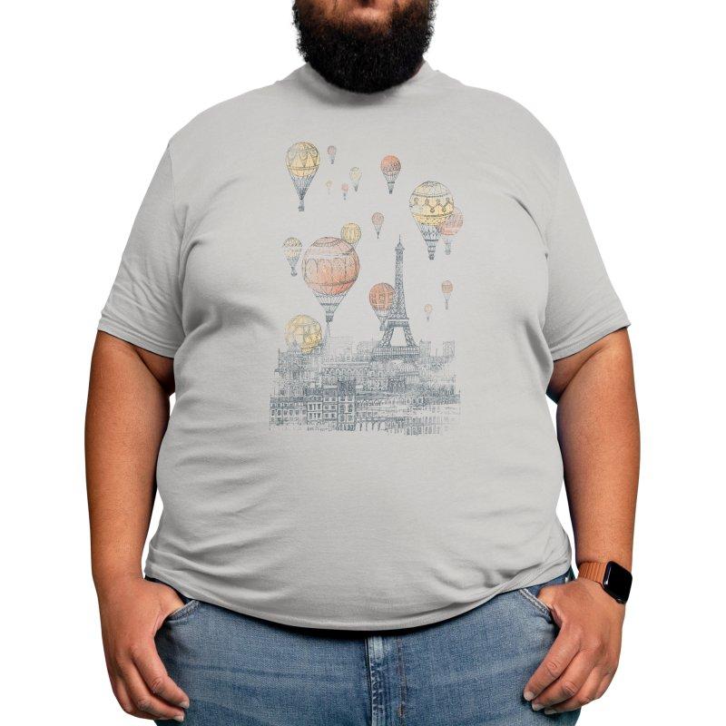 Voyages Over Paris Men's T-Shirt by Threadless Artist Shop