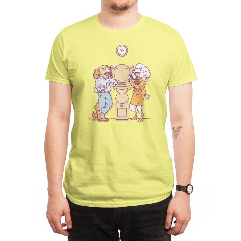 Water cooler talk Men's T-Shirt by Threadless Artist Shop