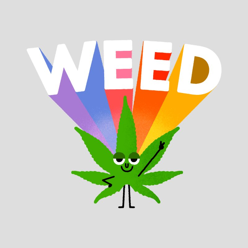 Weed Men's T-Shirt by Threadless Artist Shop