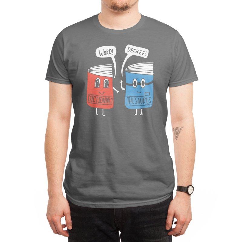 Word! Men's T-Shirt by Threadless Artist Shop