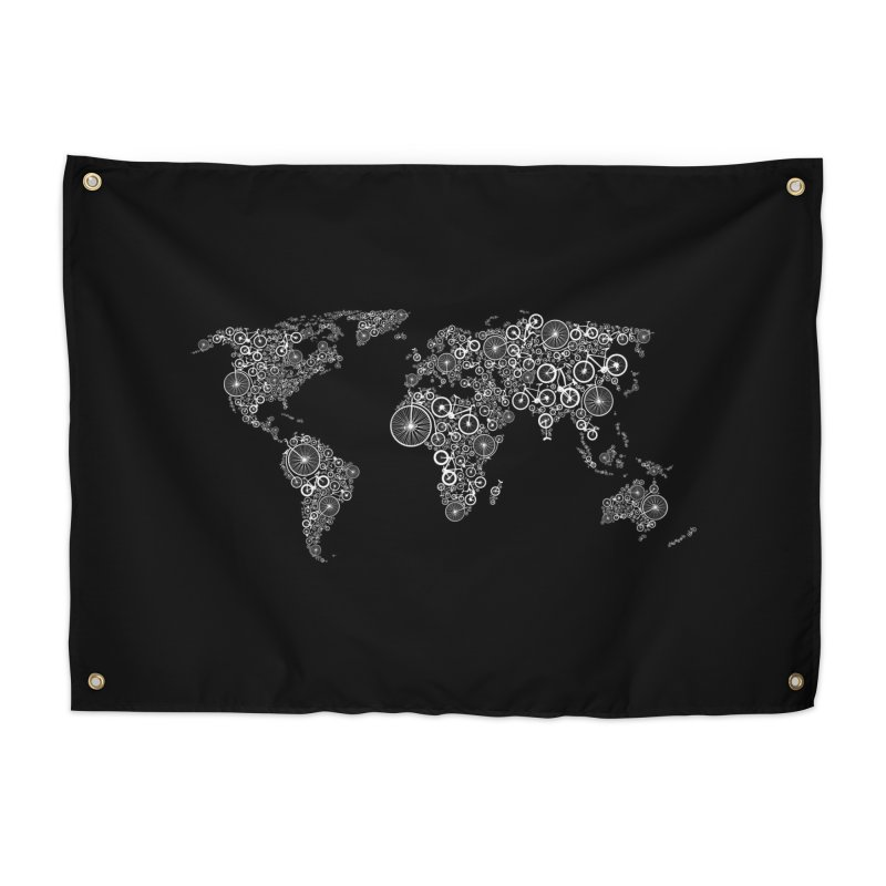 World of Bike Home Tapestry by Threadless Artist Shop