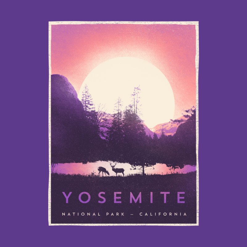 Y O S E M I T E Men's T-Shirt by Threadless Artist Shop