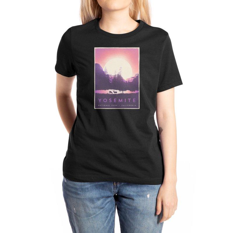 Y O S E M I T E Women's T-Shirt by Threadless Artist Shop
