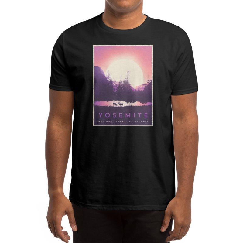 Y O S E M I T E Men's T-Shirt by Threadless Artist Shop