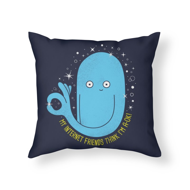 YOU ARE LOVED Home Throw Pillow by Threadless Artist Shop
