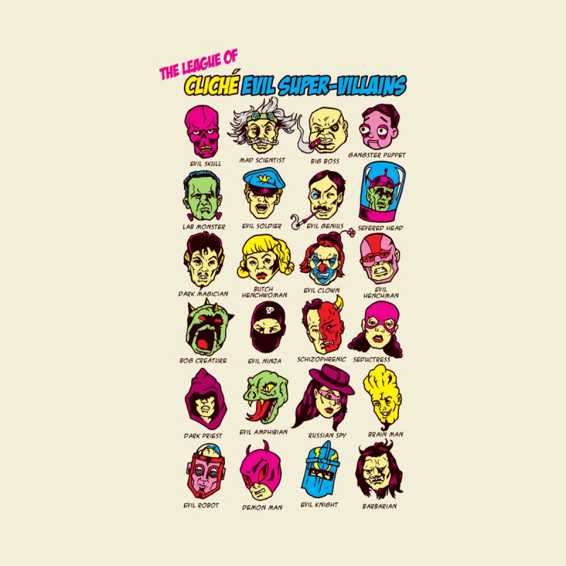 The League of Cliche Evil Super-Villains Women's T-Shirt by Threadless Artist Shop