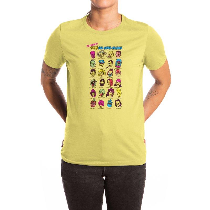 The League of Cliche Evil Super-Villains Women's T-Shirt by Threadless Artist Shop
