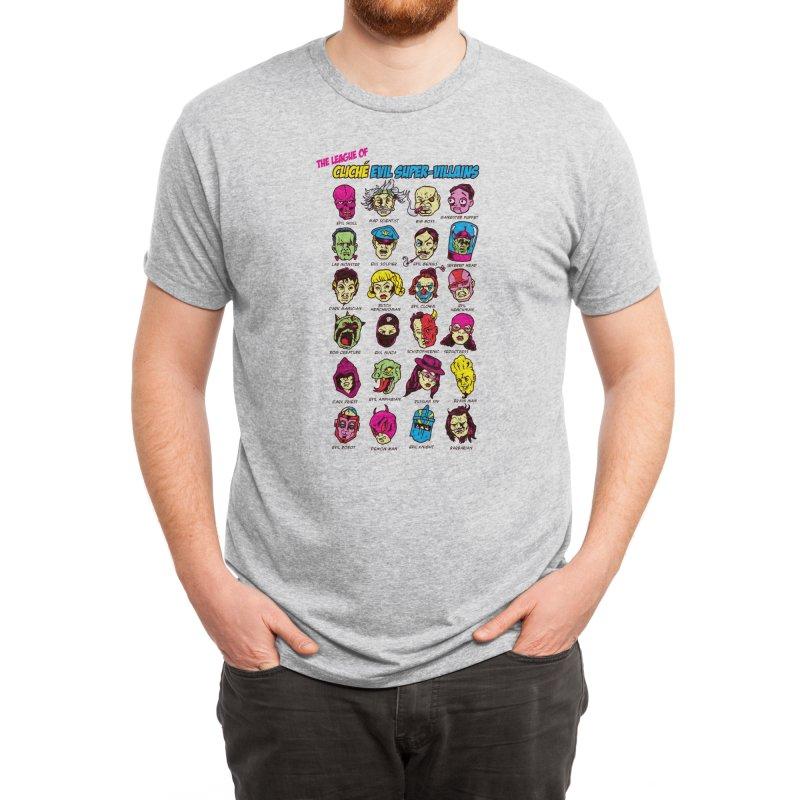 The League of Cliche Evil Super-Villains Men's T-Shirt by Threadless Artist Shop