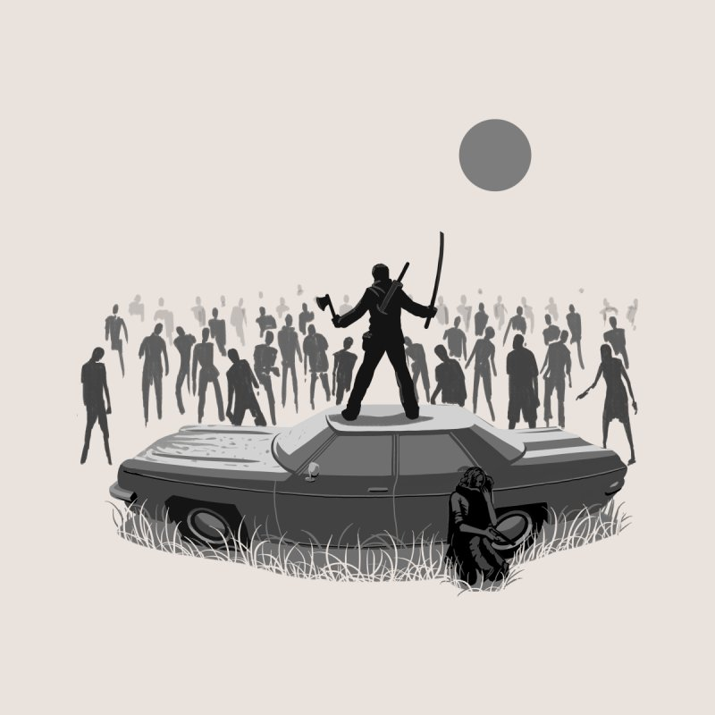 The End of The Road Men's T-Shirt by Threadless Artist Shop