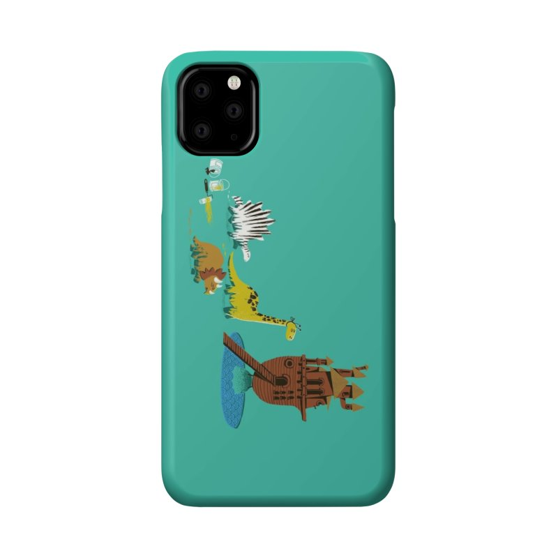 Nice Try, Dinosaurs! Accessories Phone Case by Threadless Artist Shop
