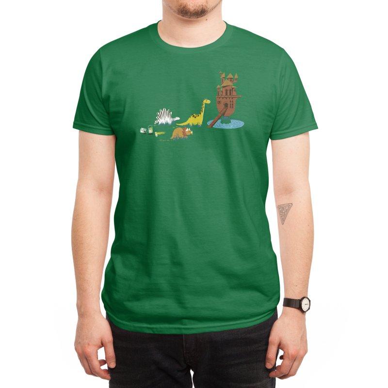 Nice Try, Dinosaurs! Men's T-Shirt by Threadless Artist Shop